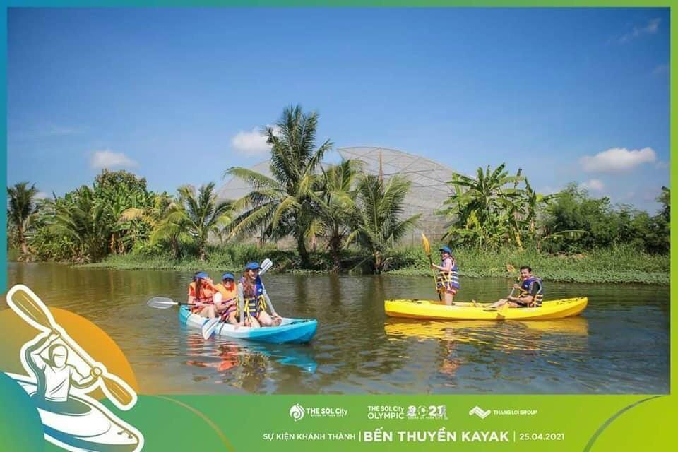 The Sol City - Ben Thuyen KaYak khai truong