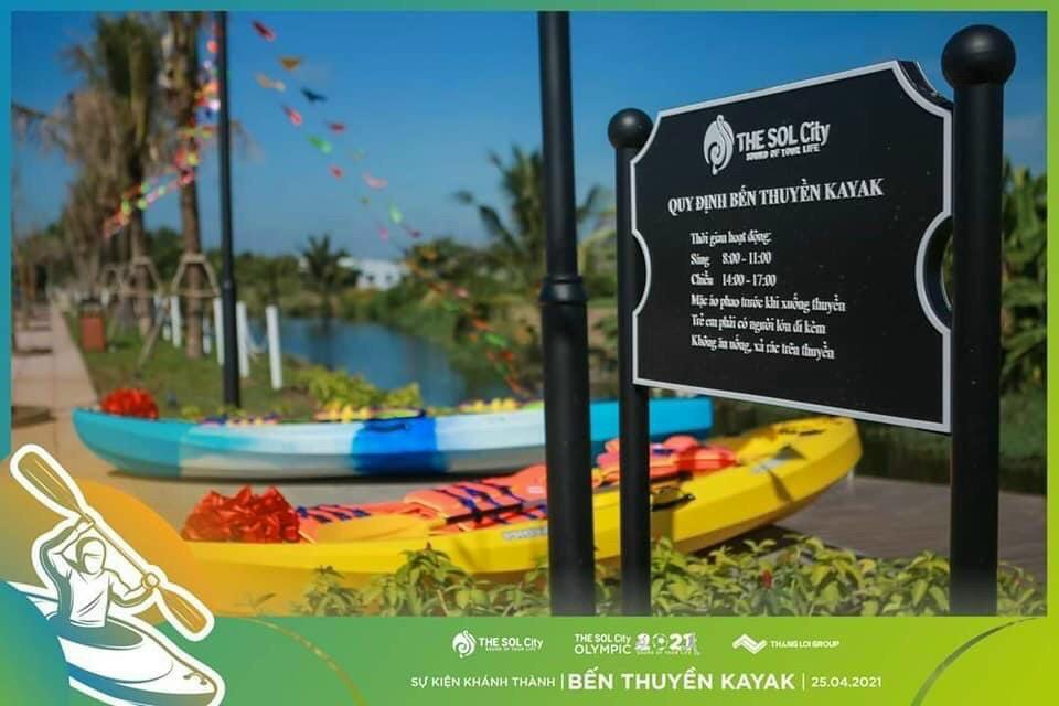 The Sol City - Ben Thuyen KaYak khai truong 8