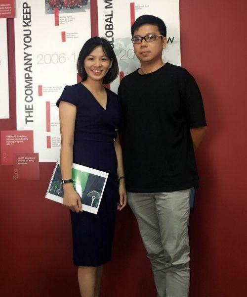 Nguyen Duc Nhan cam nhan mua Nha Pho Vincity